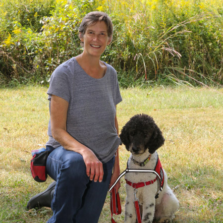 Medical Mutts trainer Kimberly Coy
