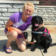 Robin, the school dog – Tammy Beechler