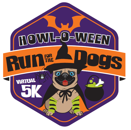 Howl-o-Ween Run for the Dogs Virtual 5k