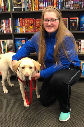 Makenna & Dozer, the Diabetes Alert Dog – Makenna Barker
