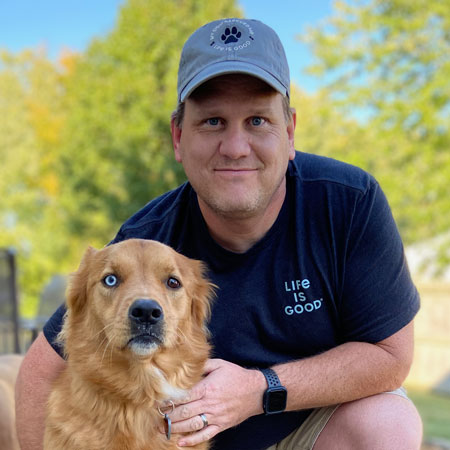 Medical Mutts fundraising and marketing manager Shawn Barney
